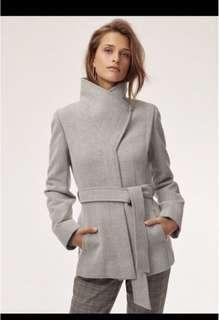 Babaton Spencer Wool Coat XS