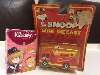 Snoopy 玩具車仔