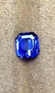 2.54ct 斯里蘭卡矢車菊藍寶石