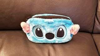 🈹️Disney Stitch 立體造型毛毛筆袋/雜物袋