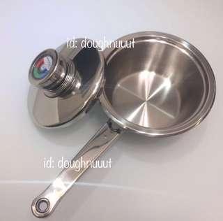 (全新 原盒未開封) 厚身 不銹鋼煲 公仔麵煲 Rainbow 煲 Stainless Steel Pot 不鏽鋼煲 單柄煲 Cookware Cooking Pot