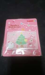 卡娜赫拉聖誕節i cash卡