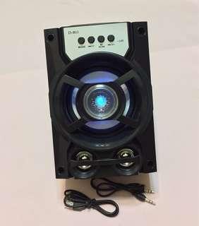🚚 立體聲藍芽喇叭Bass surround sound blue bud speaker