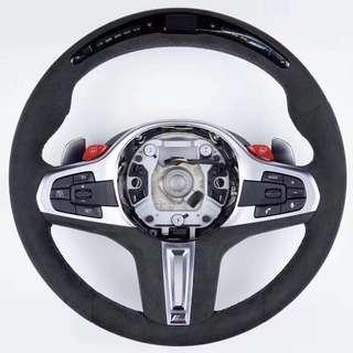 BMW G SERIES LED SPORT STEERING WHEEL