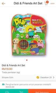 Didi & Friends 34 pcs art set