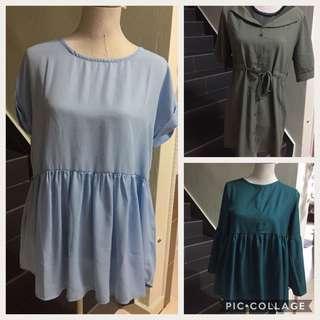 Combo 3 pcs blouse