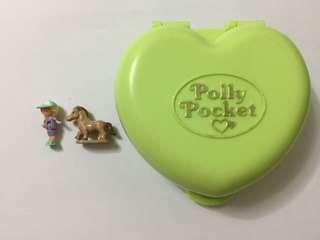Polly pocket love shape