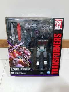 Transformers POTP leader class Nemesis Prime convoy - brand new MISB