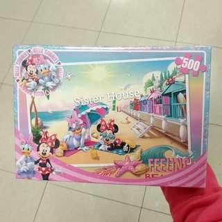 🇰🇷Disney Daisy Duck Minnie Mouse Puzzle 500pcs 廸士尼黛絲米妮老鼠砌圖500塊