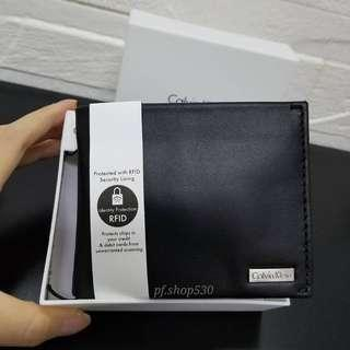 Calvin Klein billfold with coin case wallet 【ck銀包】