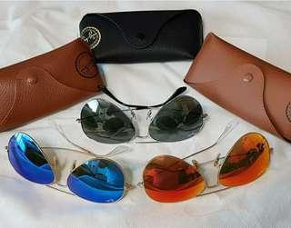 Ray Ban Sunglasses 反光系列 多色 七色
