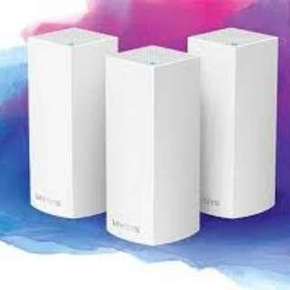 new linksys velop set of 3 (triband) with warranty