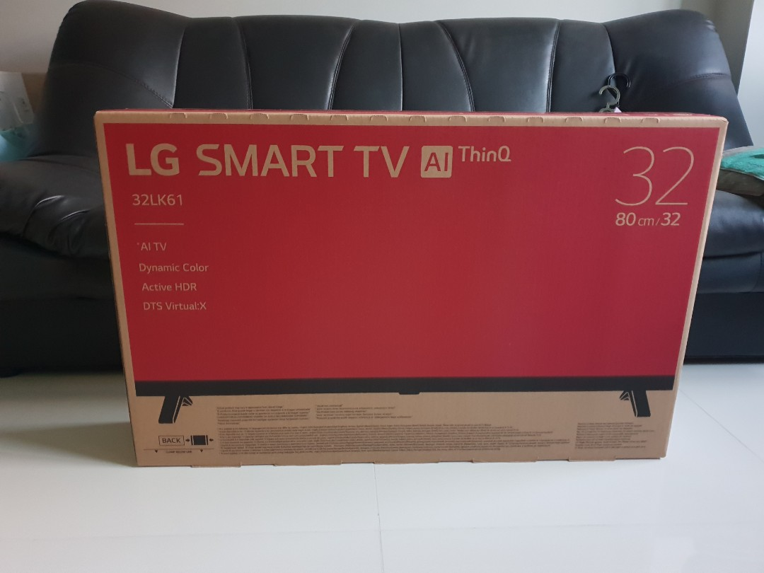 Free Delivery 32lk610bptb Lg Smart Hd Tv 32 Inch Home Appliances