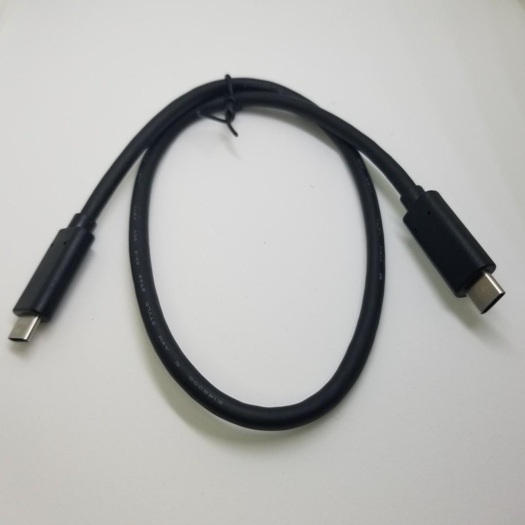 30/50cm 短線 short Type C (USB-C) to USB TypeC Switch C2C 充電線