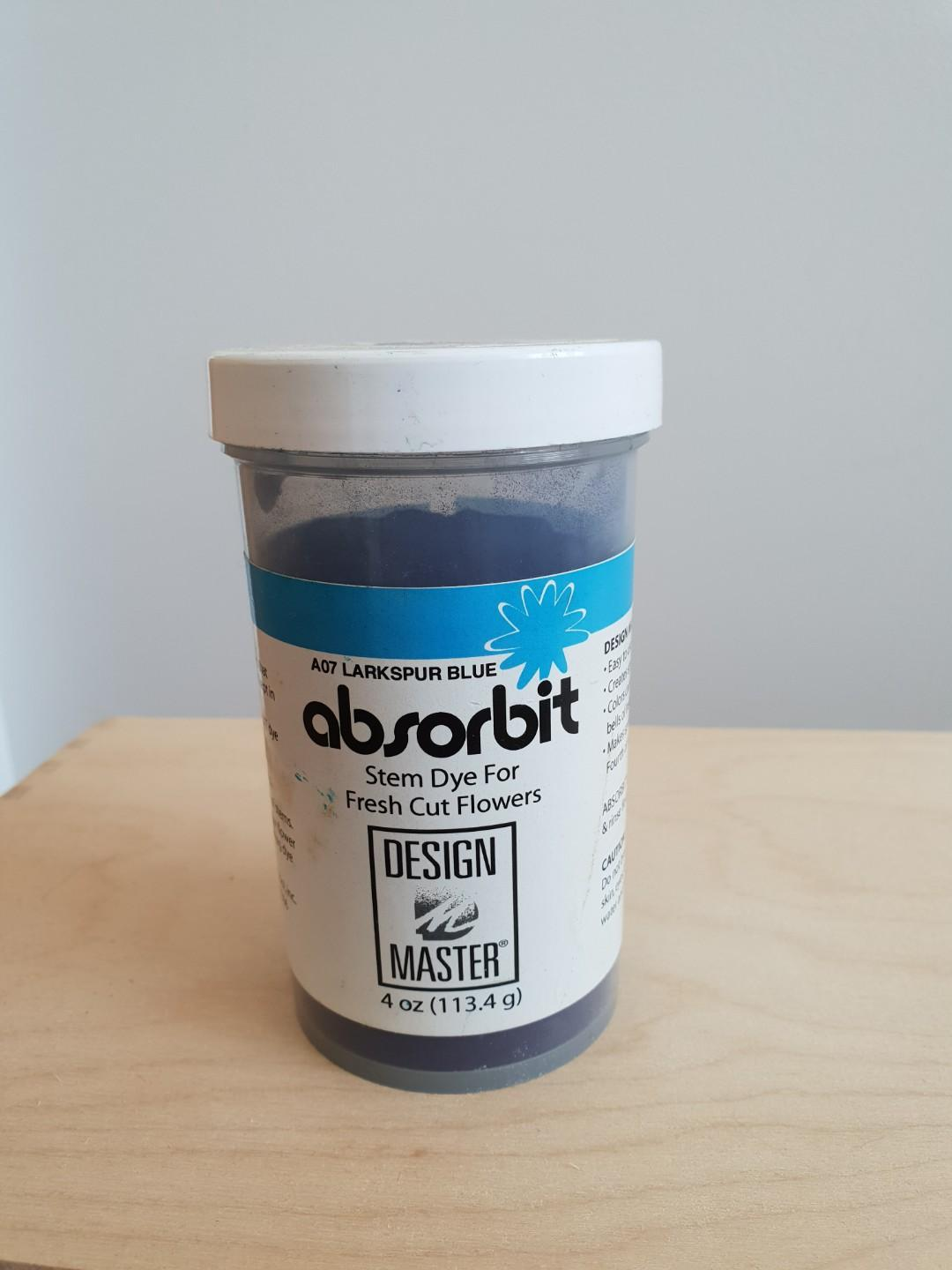 ABSORBIT Stem Dye for Fresh Cut Flowers