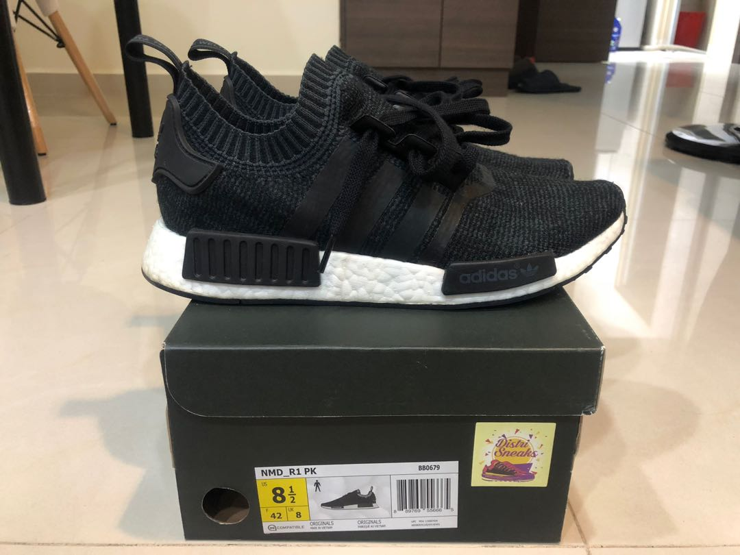 c8550019c21c6 Adidas NMD R1 PK Winter Wool UK8 US8.5 EU42