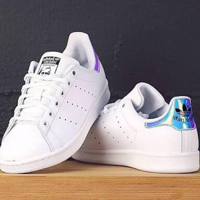 stan smith holographic back