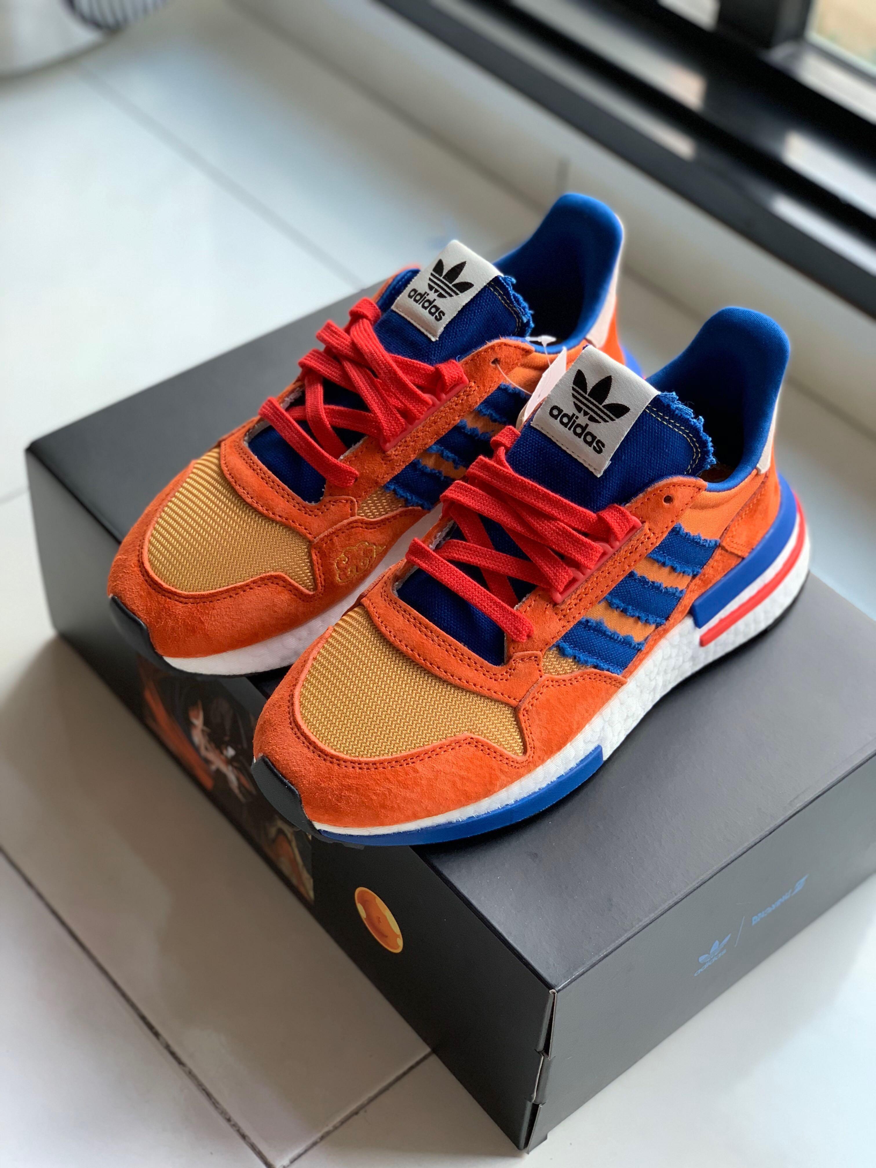 """buy popular c559a 8f4c4 Adidas ZX 500 RM """"SON GOKU"""", Men's Fashion, Footwear ..."""