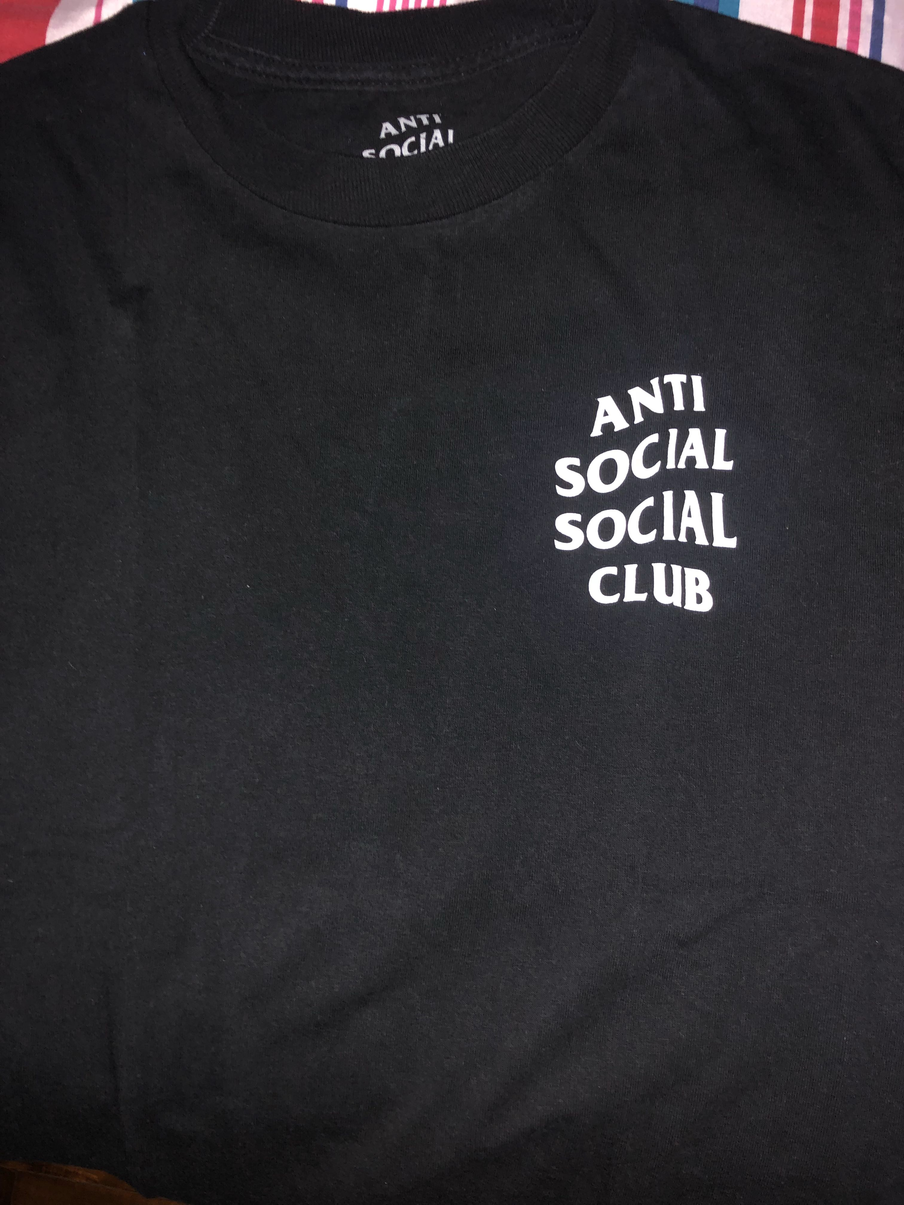0cfddb166 Anti Social Social Club Logo Tee, Men's Fashion, Clothes, Tops on Carousell
