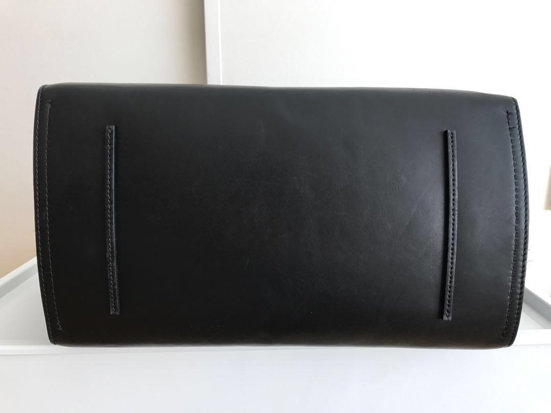 Aritzia Auxiliary Balthasar Satchel (black, leather) #LISTARITZIA