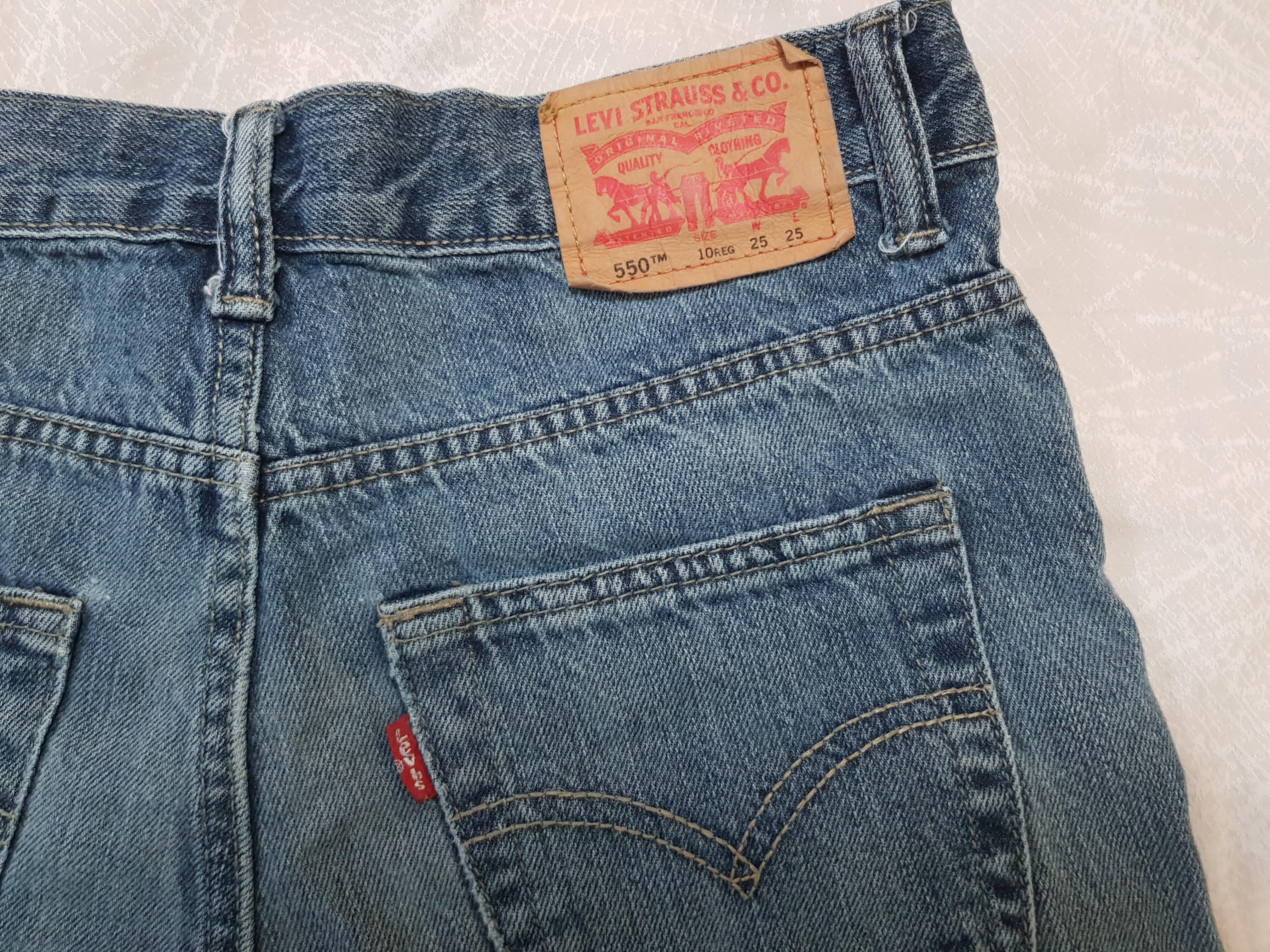 930abd5ea5 Authentic Levi's 550 Vintage High Waisted Denim Shorts, Women's ...