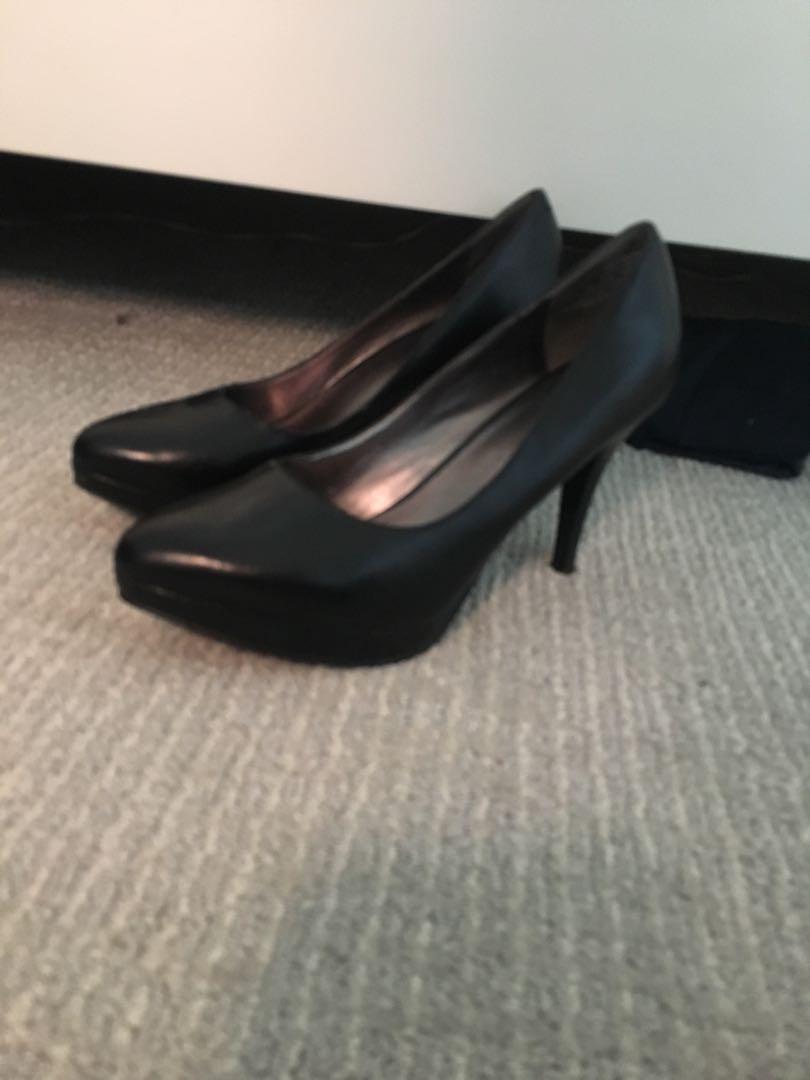 Basic black heels
