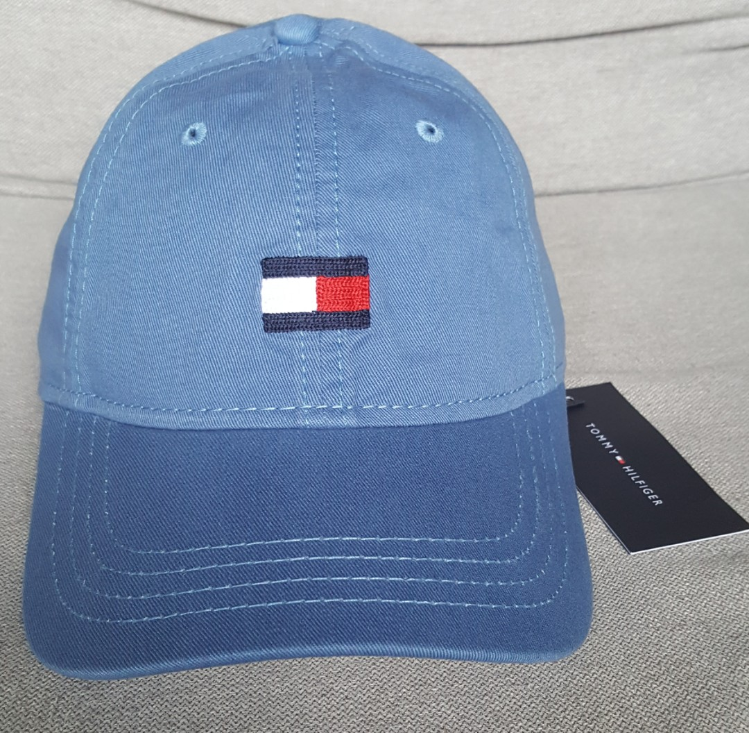 tommy hilfiger classic flag baseball cap men black hats tommy ... c52802f5fdfe