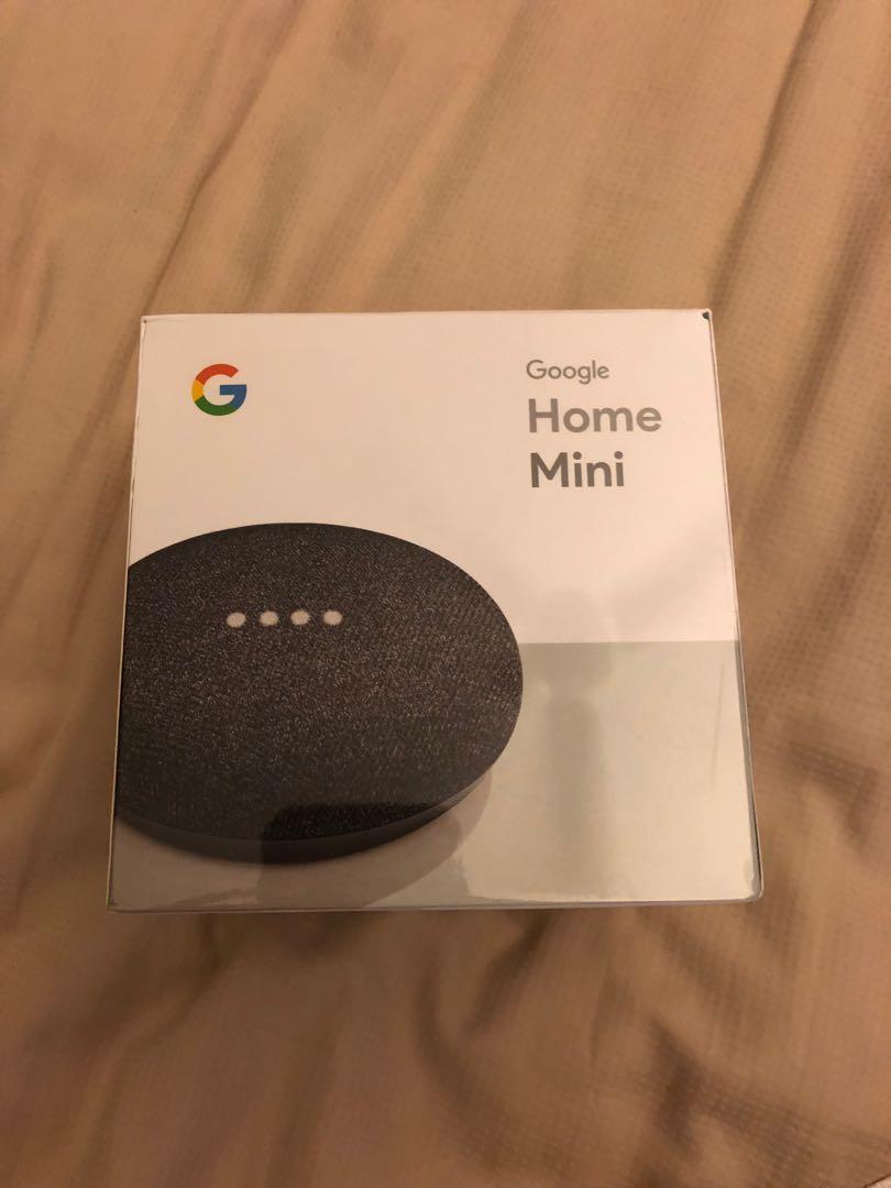 Brand New Unopen Google Home Mini Electronics Computer Parts
