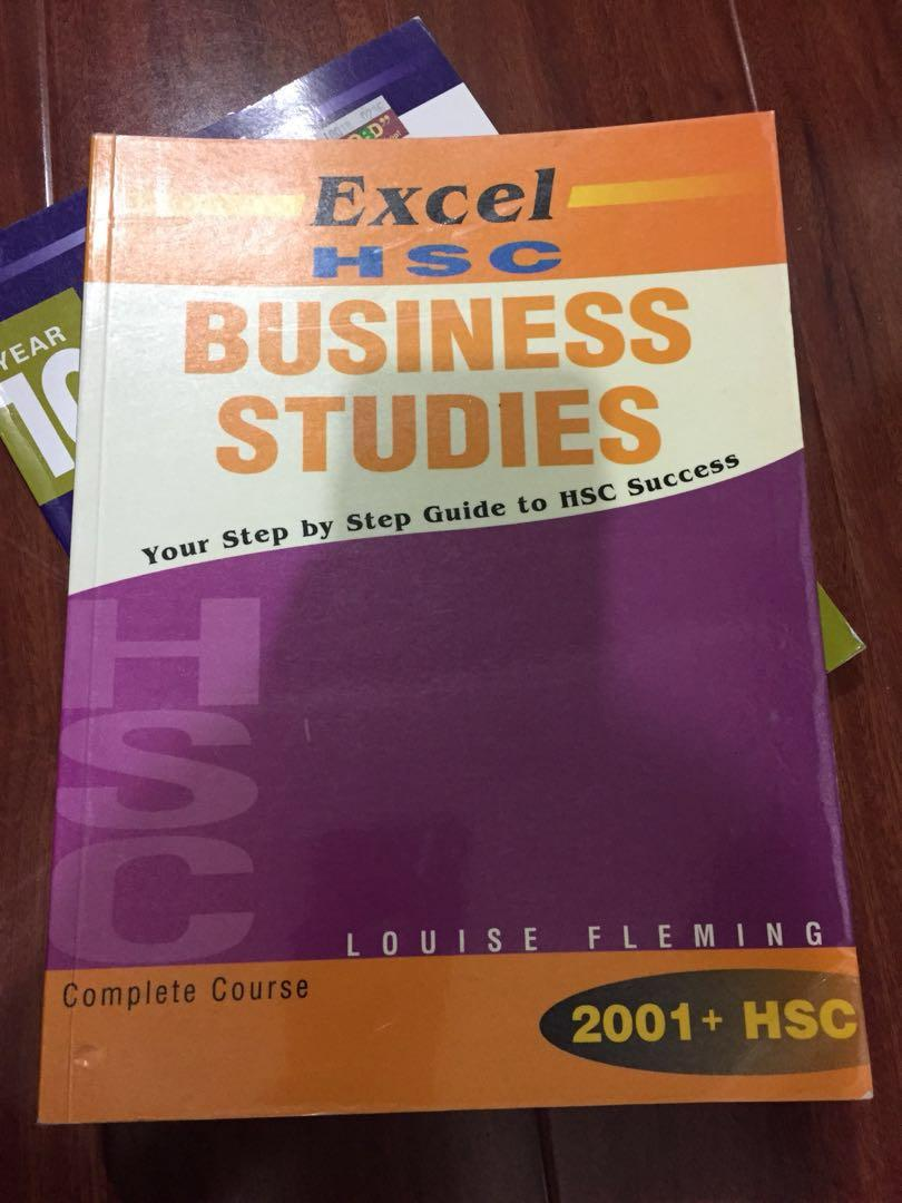 Business Studies HSC excel Study Guide Textbook Year 12