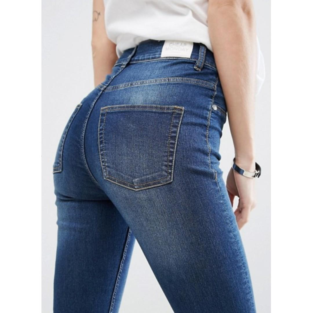 Cheap Monday high waist skinny jeans