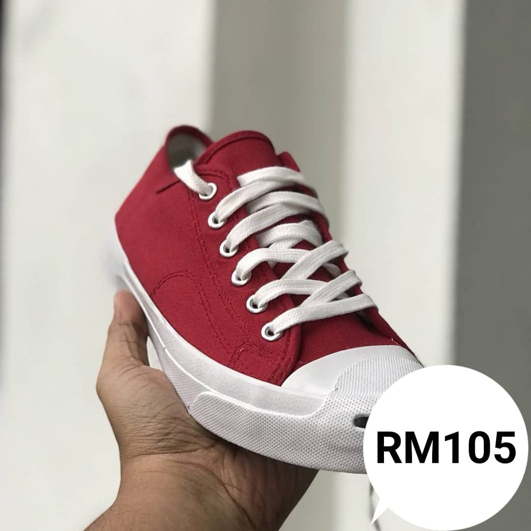 9c47a05c71a7 CONVERSE JACK PURCELL RED WHITE