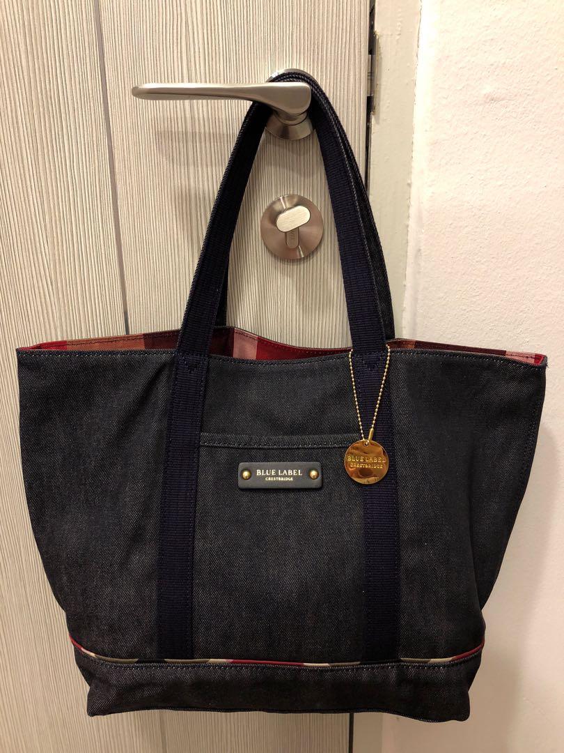 91627fe83bf8 Crestbridge Blue Label Reversible Tote Bag