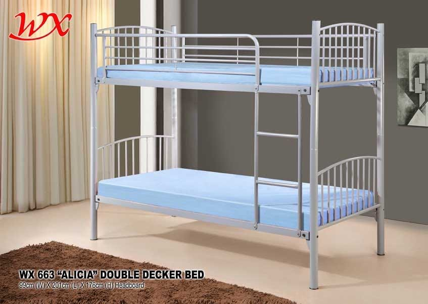 Double Decker Metal Beds Frame