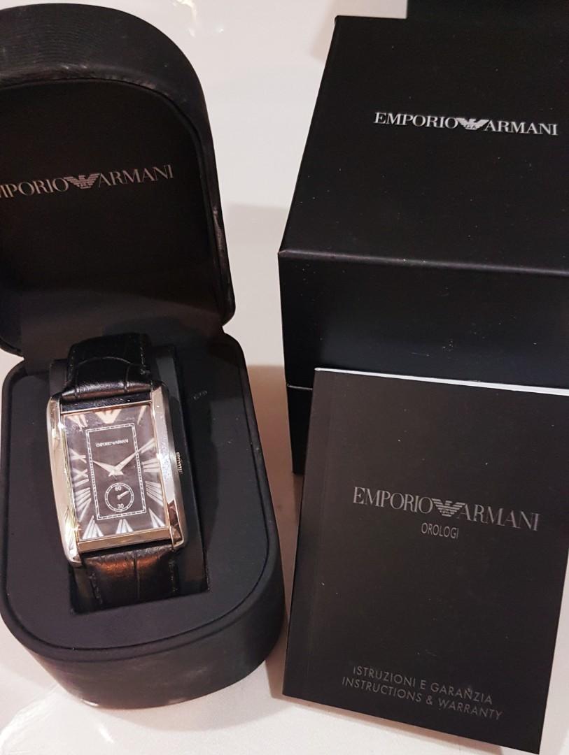 683c78ec23c Emporio Armani Watch