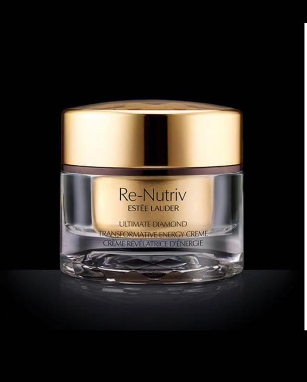 Estee Lauder 新品極致黑鑽素顏活能面霜 RE-NUTRIV ULTIMATE DIAMOND TRANSFORMATIVE ENERGY CREME