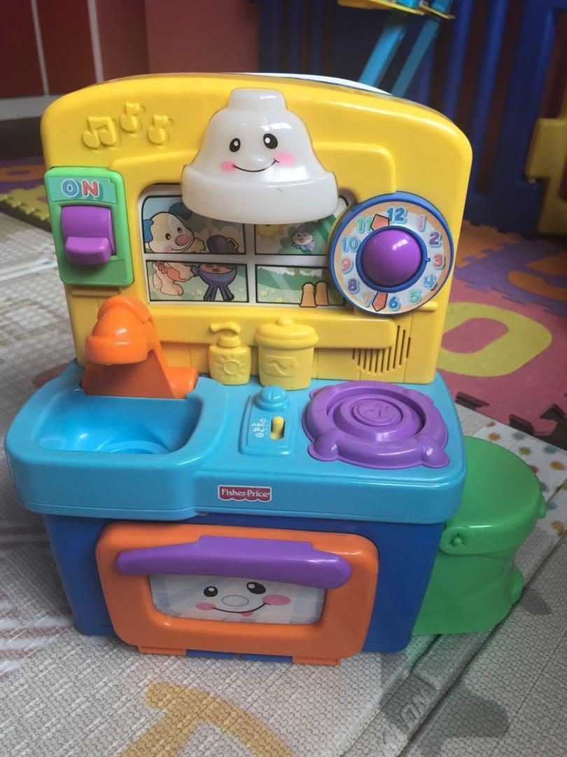 Fisher Price kitchen Toy, Babies & Kids, Toys & Walkers on ...
