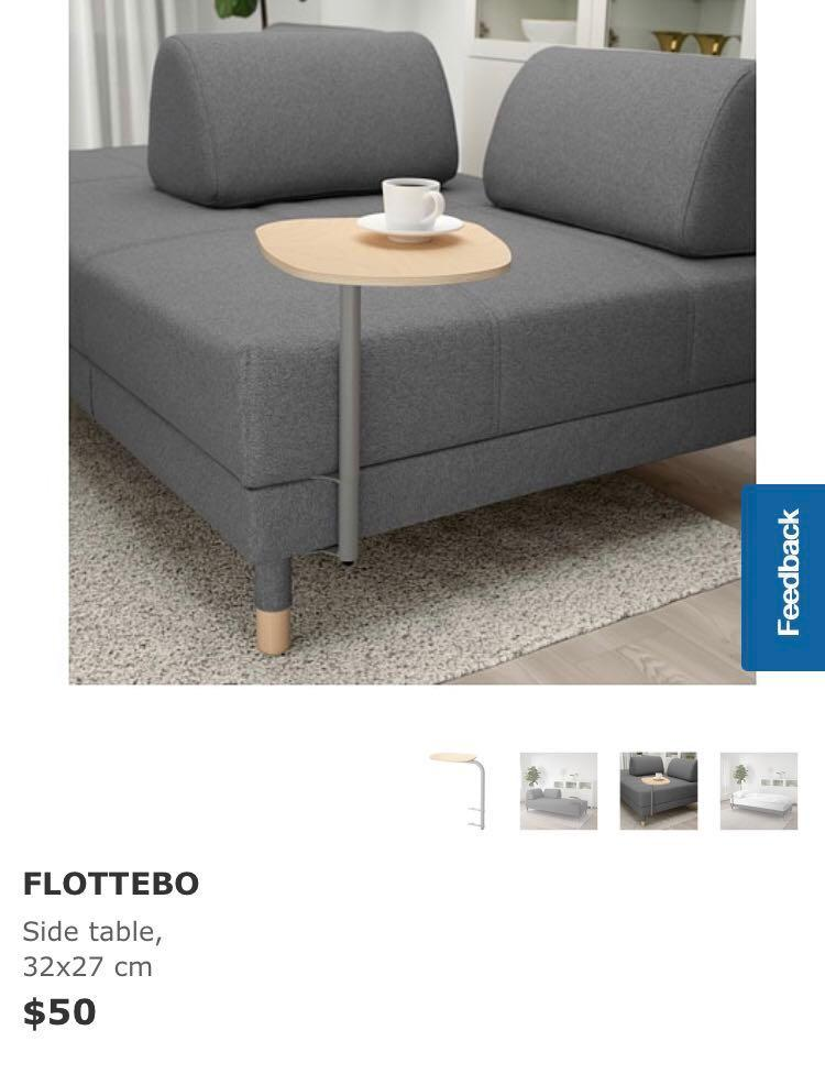 Brilliant Ikea Flottebo Side Table Furniture Others On Carousell Bralicious Painted Fabric Chair Ideas Braliciousco