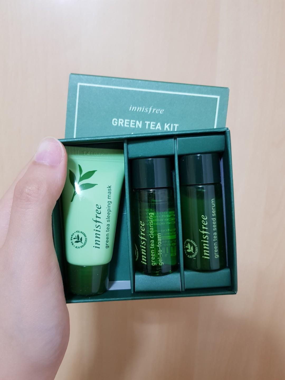 8330b78ef04 Innisfree Green Tea Kit for night