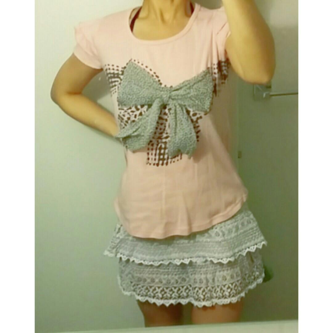 Kawaii Pink T-Shirts