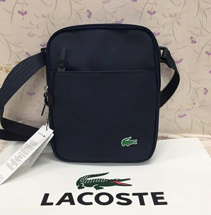 5338ad79769 Lacoste Authentic Quality Sling Bag, Men s Fashion, Bags   Wallets ...