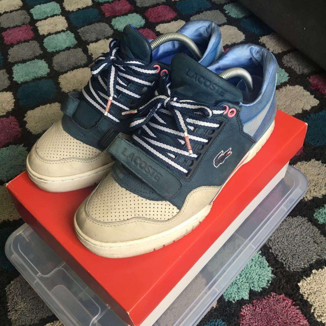 fab09574cb9 Lacoste L!VE X Sneaker Freaker, Fesyen Lelaki, Kasut Lelaki, Sneakers di  Carousell