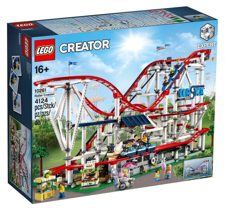 Leeogel Lego Creator 10261 Roller Coaster New In Sealed Box Toys