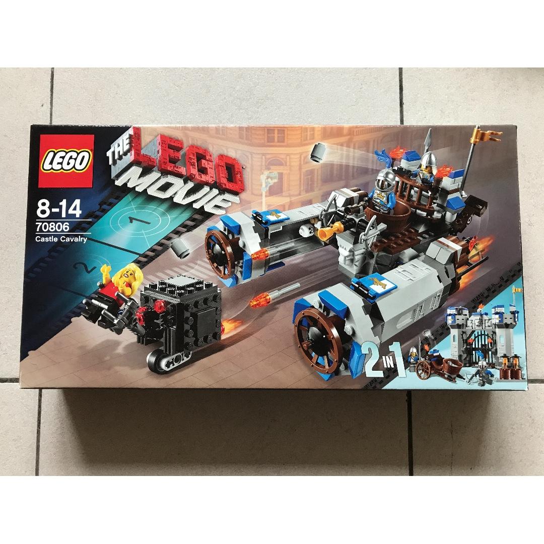 Lego Movie 70806 Castle Cavalry Build 2 In 1 Toys Games Bricks