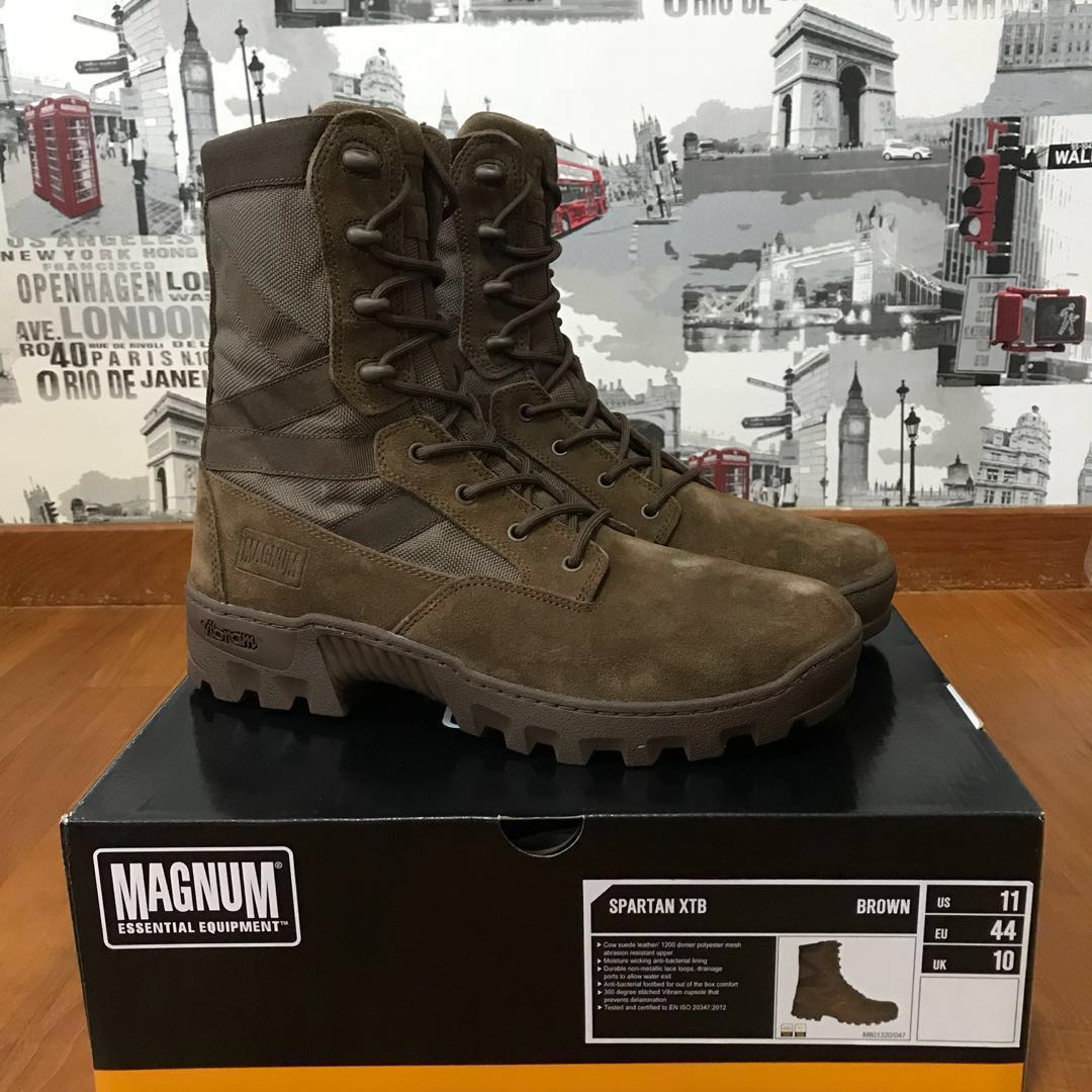 Magnum Spartan XTB Brown Tactical Combat Boots Us11 Rare HTF 5e99b1b4c