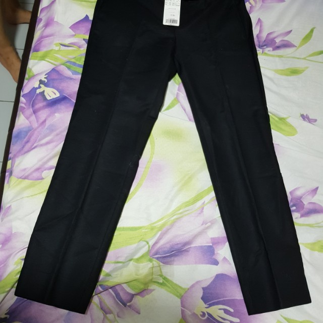 b5e9d0dee Mango Black Pants, Women's Fashion, Clothes, Pants, Jeans & Shorts ...