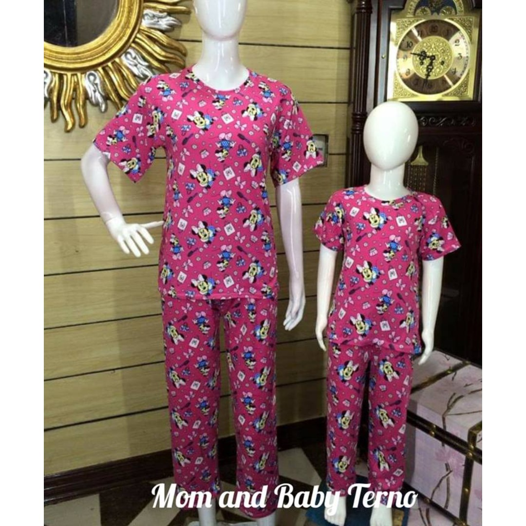 d791307df MOM AND DAUGHTER PAJAMA TERNO