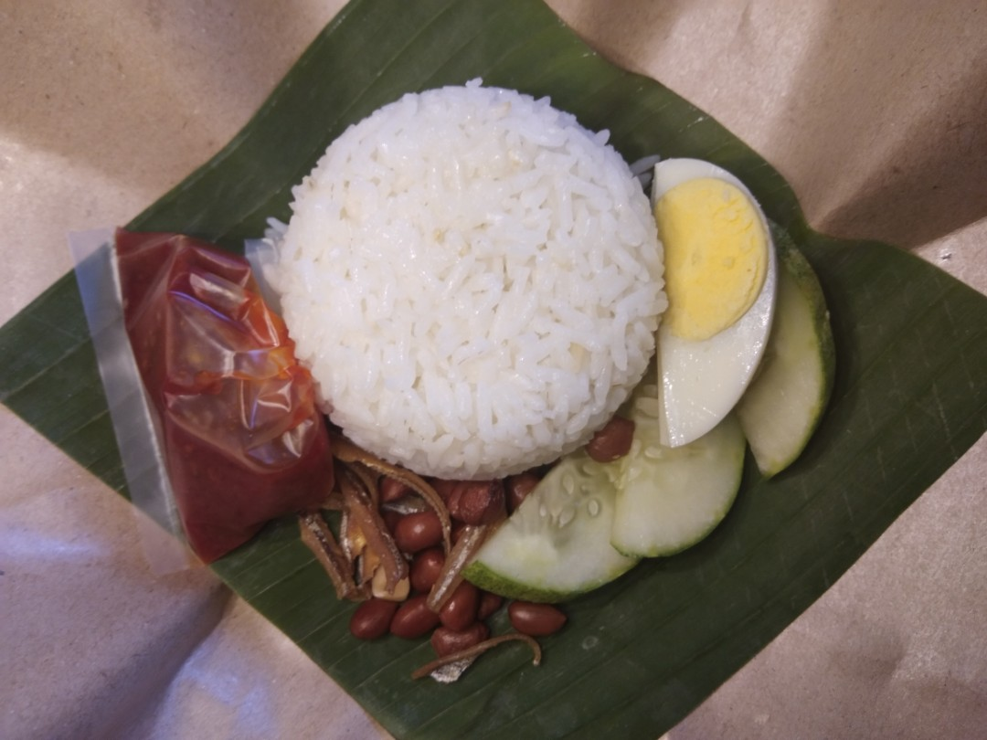 Nasi Lemak Bungkus Food Drinks Packaged Snacks On Carousell