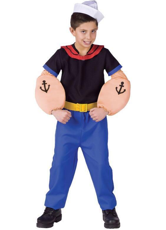Costume Halloween 911.New Halloween Popeye Costume In Size 9 11 Years Old On Carousell