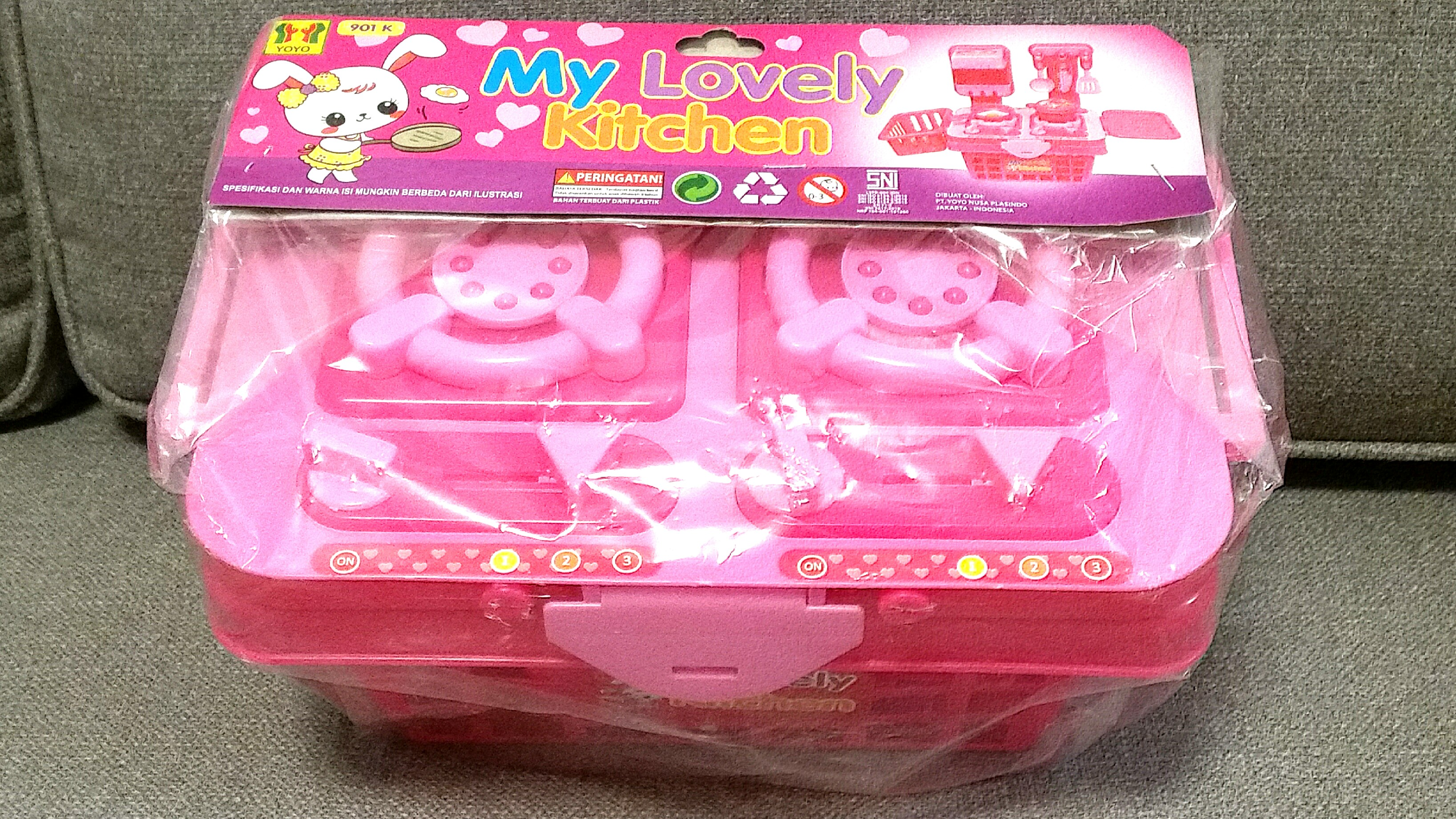 New Kitchen Set Toys Babies Kids Toys Walkers On Carousell