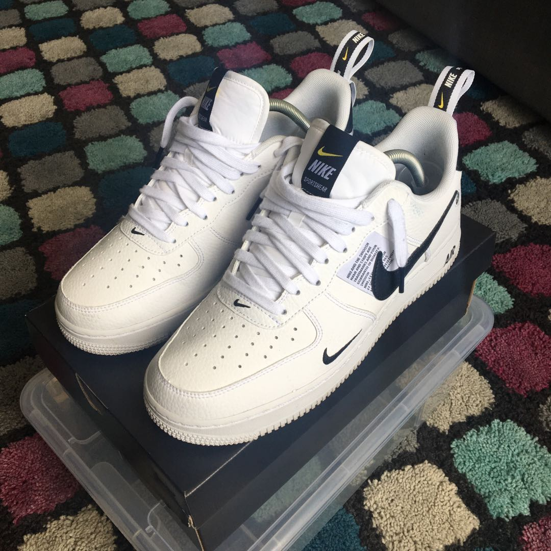 buty do biegania style mody tanie trampki Nike Air Force 1 - '07 Lvl8 Utility, Men's Fashion, Footwear ...